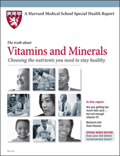 Harvard Med School Pub on Vitamins and Minerals